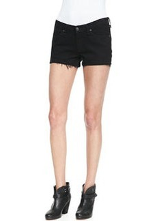 Denim Cutoff Shorts, Coal   Denim Cutoff Shorts, Coal