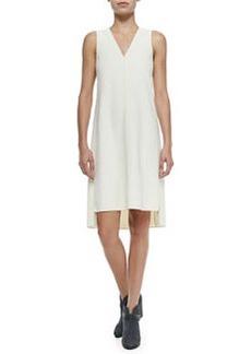 Fernanda Sleeveless Dress W/ Stacked Hem   Fernanda Sleeveless Dress W/ Stacked Hem