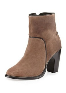 Grayson Suede Ankle Boot, Taupe   Grayson Suede Ankle Boot, Taupe