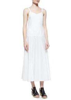 Jade Sleeveless Poplin A-Line Dress   Jade Sleeveless Poplin A-Line Dress