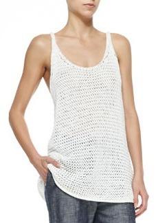 Joelle Sweater-Knit Long Tank   Joelle Sweater-Knit Long Tank