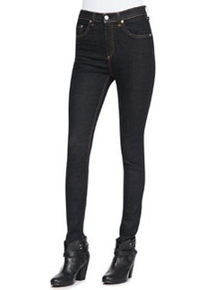 Justine High-Rise Skinny Jeans, Harrow   Justine High-Rise Skinny Jeans, Harrow