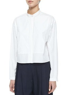 Lily Long-Sleeve Cropped Blouse   Lily Long-Sleeve Cropped Blouse