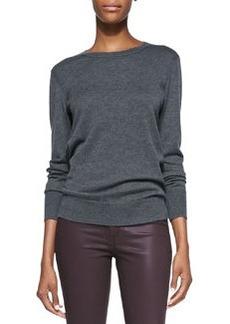 Natalie Wool Sweater, Charcoal   Natalie Wool Sweater, Charcoal