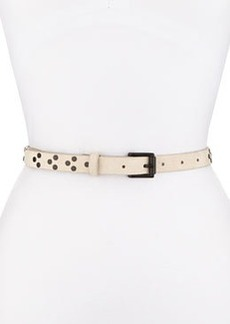 Nubuck Rivet Waist Belt, Black   Nubuck Rivet Waist Belt, Black