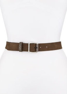 Nubuck Textured-Roller Hip Belt   Nubuck Textured-Roller Hip Belt