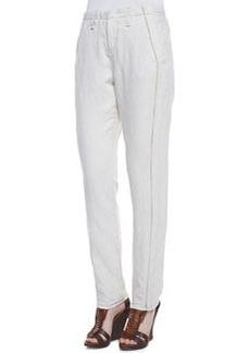 Portobello Separating-Seam Trousers, Natural   Portobello Separating-Seam Trousers, Natural