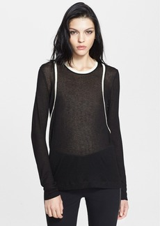 rag & bone 'Adela' Long Sleeve Knit Top