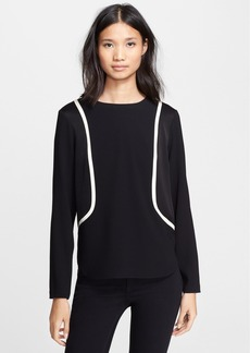 rag & bone 'Andrea' Long Sleeve Top