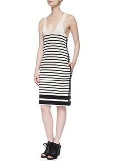 Rag & Bone Avila Striped Racerback Dress