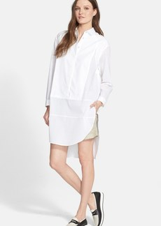 rag & bone 'Axis' Oversized Cotton Shirtdress