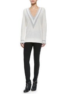 Rag & Bone Cashmere Talia V-Neck Sweater
