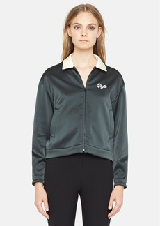rag & bone 'Dean' Zip Front Satin Track Jacket
