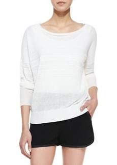 Rag & Bone Denise Bateau-Neck Sweater