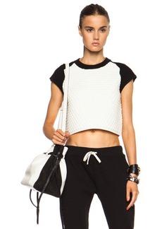 """rag & bone <div class=""""product_name"""">Kelsie Crop Wool-Blend Top</div>"""