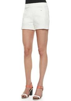 Rag & Bone Farnsworth Structured Crepe Shorts