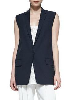 Rag & Bone Francois Wool-Crepe Suit Vest