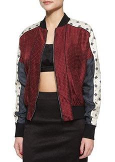 Rag & Bone Greta Pattern-Block Jacket