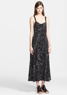 rag & bone 'Jade' Print Silk Midi Dress