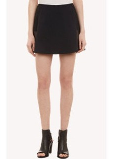 Rag & Bone Leather-Panel Montrose Skirt