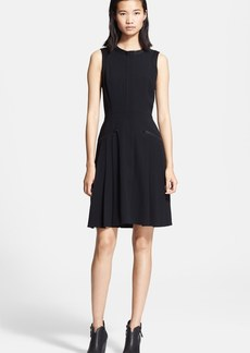 rag & bone 'Nettie' Satin Trim Fit & Flare Dress