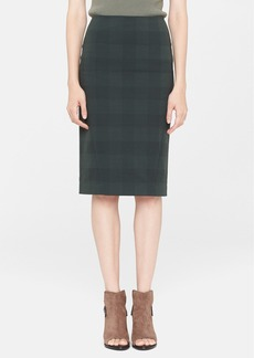 rag & bone 'Ora' Check Pencil Skirt