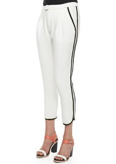 Rag & Bone Platini Side-Stripe Cropped Pants (Stylist Pick!)
