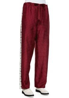 Rag & Bone Rudy Drawstring Printed Pants