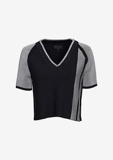 rag & bone Sammi Cropped V Neck Sweater