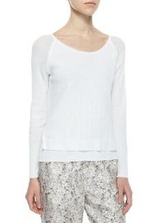 Rag & Bone Shari Layered Knit Pullover