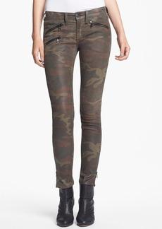 rag & bone Skinny Camo Print Leather Pants
