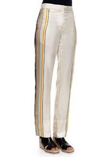 Rag & Bone Smith Striped Silk Pants