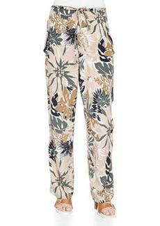 Rag & Bone Victoria Tie-Waist Floral-Print Pants