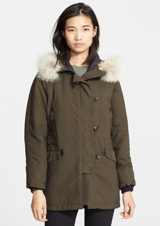 rag & bone 'Waterloo' Parka with Genuine Coyote Fur Hood