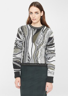 rag & bone x Coogi Crop Sweater