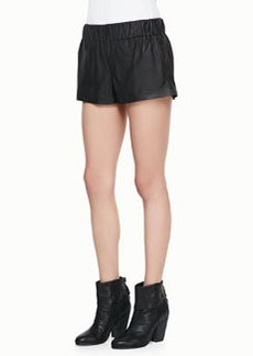 rag & bone/JEAN Coated Pajama Shorts
