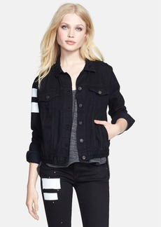 rag & bone/JEAN Crop Denim Jacket