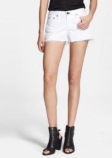 rag & bone/JEAN Cutoff Shorts (Bright White)