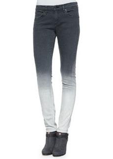 rag & bone/JEAN Dre Skinny Jeans, Charcoal Ombre