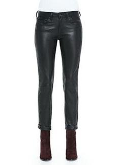 rag & bone/JEAN Dre Straight-Leg Leather Pants