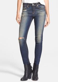rag & bone/JEAN High Rise Skinny Jeans (Mateos)
