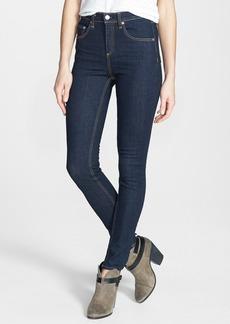 rag & bone/JEAN High Rise Skinny Stretch Jeans (Heritage)
