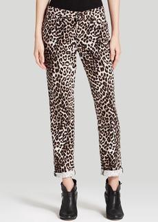 rag & bone/JEAN Jeans - Boyfriend in Snow Leopard