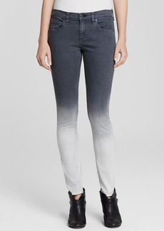 rag & bone/JEAN Jeans - Grimsby Charcoal Ombre in Grimsby