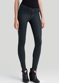 rag & bone/JEAN Jeans - The Legging in Coated Green Gables