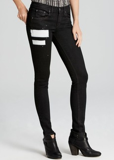 rag & bone/JEAN Jeans - The Skinny in Coal Black