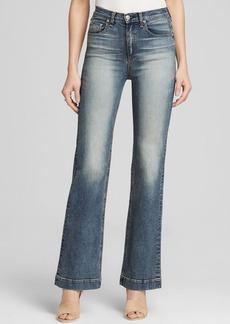 rag & bone/JEAN Justine Wide Leg Jeans - Bloomingdale's Exclusive