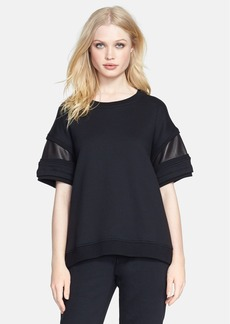 rag & bone/JEAN 'Lira' Short Sleeve Sweatshirt