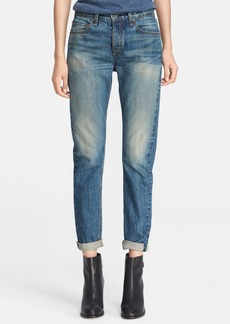 rag & bone/JEAN 'Marilyn' Crop Jeans (Big Sur)