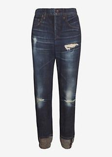 rag & bone/JEAN Miramar Digital Print Sweatpant Jean: Sheffield
